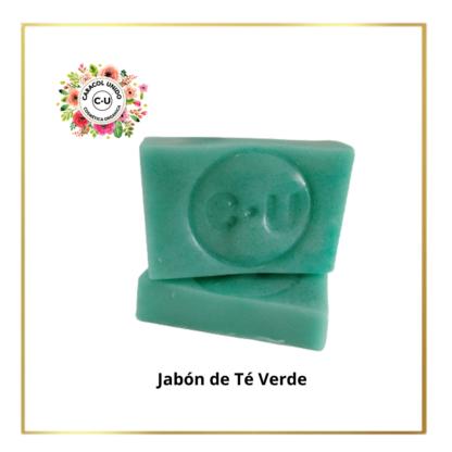 jabón de te verde